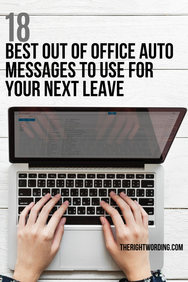 18 Best Out Of Office Auto Messages To Use For Your Next Leave #emailmarketing #salesfunnel #onlinemarketing #webmarketing #inboundmarketing