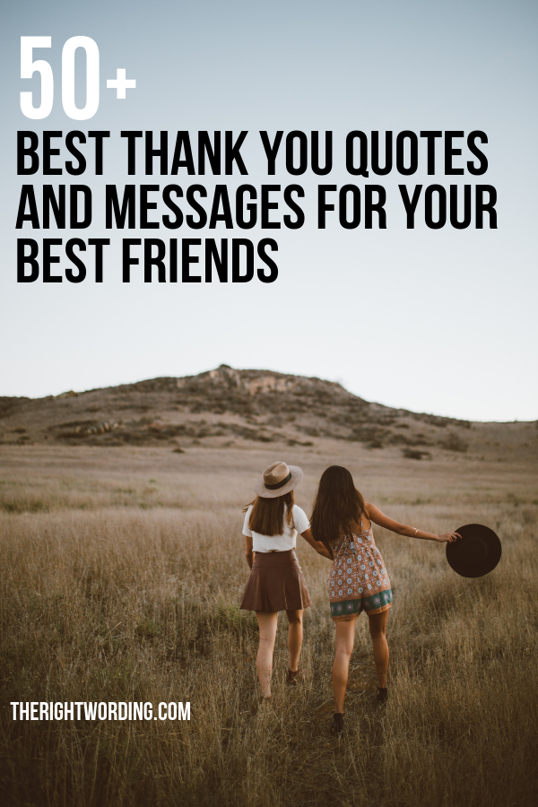 Best Thank You Messages For Your Friends To Show Your Gratitude, Share some thanks with your besties or bff  #bestfriends #friendship #friendshipquote #bestfriendquote #friendquotes #bff