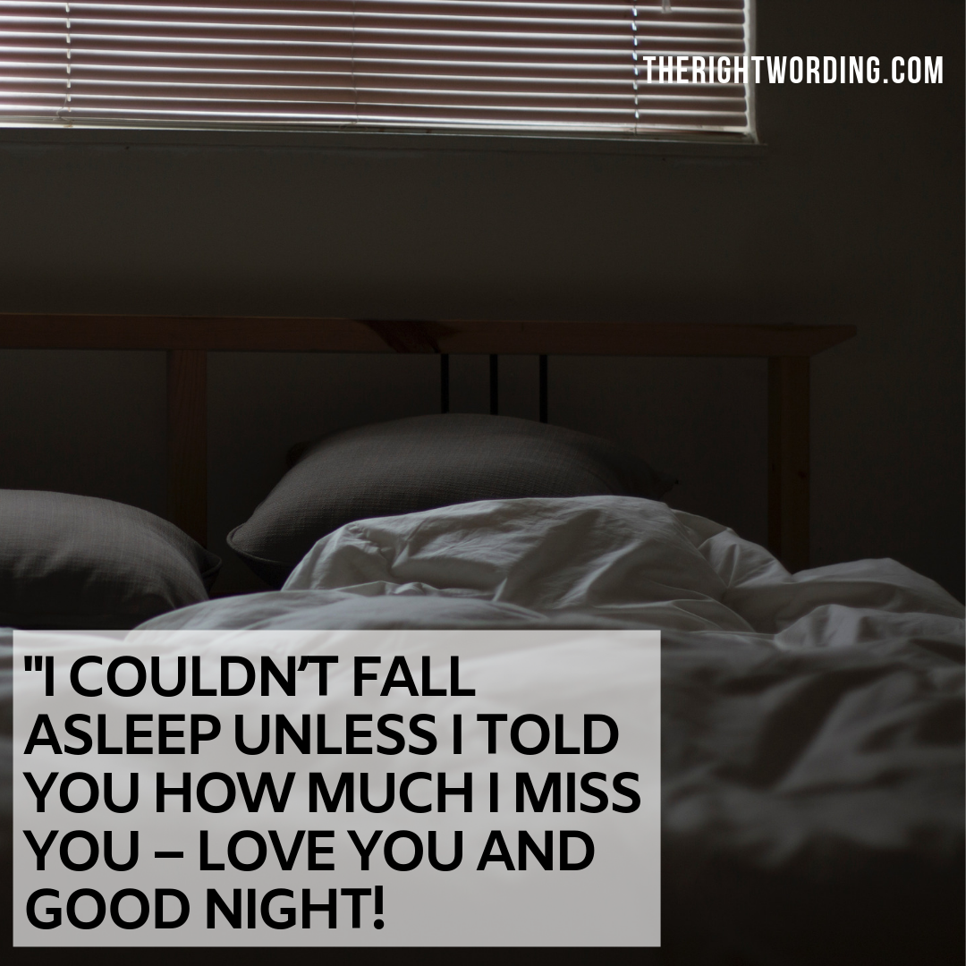 30 Best Good Night Quotes And Messages For Him That He Will Love