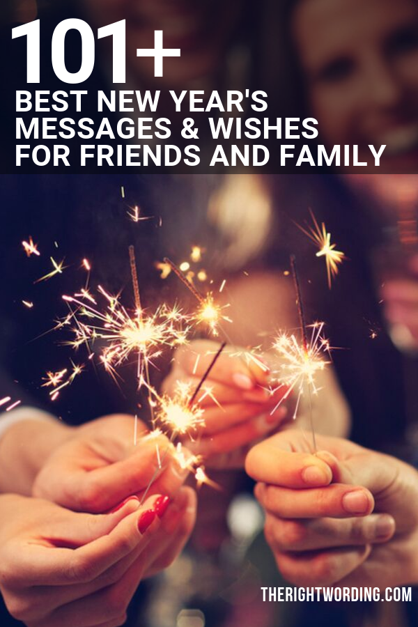 101+ Best New Year's Messages And Wishes For Friends & Family