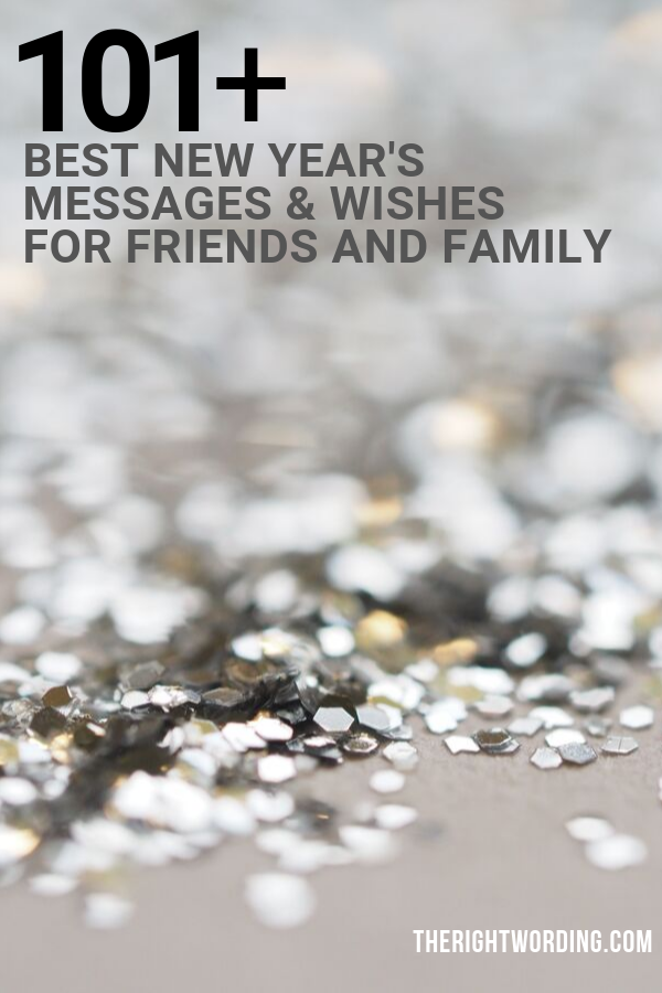 101 Best New Year S Messages And Wishes For Friends Family