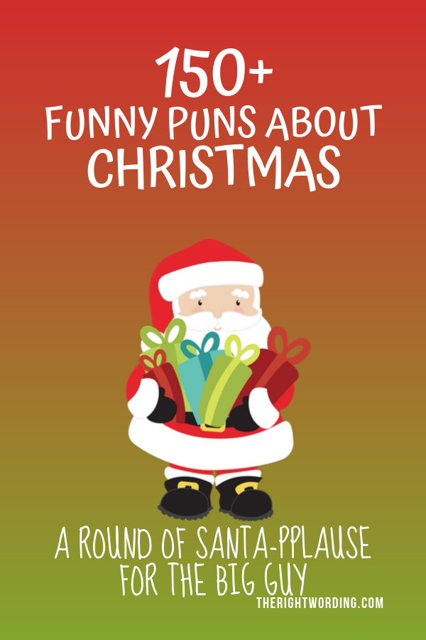 Best Christmas Puns That Will Sleigh You, Holiday Jokes and One Liners, Santa Joke #christmas #christmasjokes #christmaspuns #holidayjokes #holidaypuns