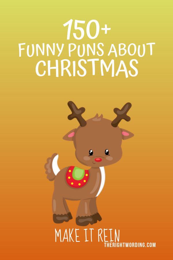 Best Christmas Puns That Will Sleigh You, Holiday Jokes and One Liners, reindeer joke #christmas #christmasjokes #christmaspuns #holidayjokes #holidaypuns