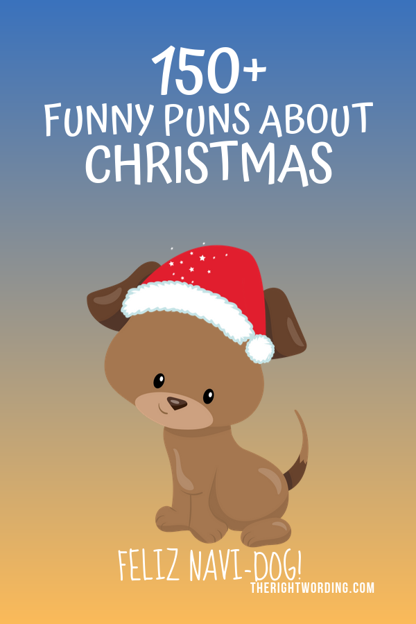 Best Christmas Puns That Will Sleigh You, Holiday Jokes and One Liners, Dog Joke #christmas #christmasjokes #christmaspuns #holidayjokes #holidaypuns #dogjoke