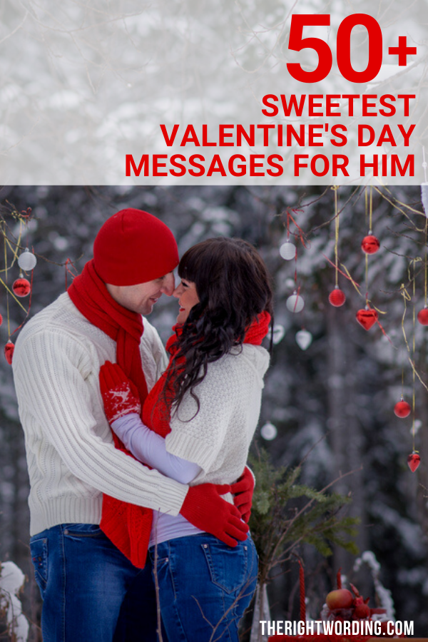 Happy Valentine's Day Husband! 50+ Sweetest Short Cute Valentine Messages For Him, Valentines wishes and quotes for boyfriend #valentine #valentinesday #valentines #valentinesdayquotes #valentinesdaymessages #lovequotes #lovemessages
