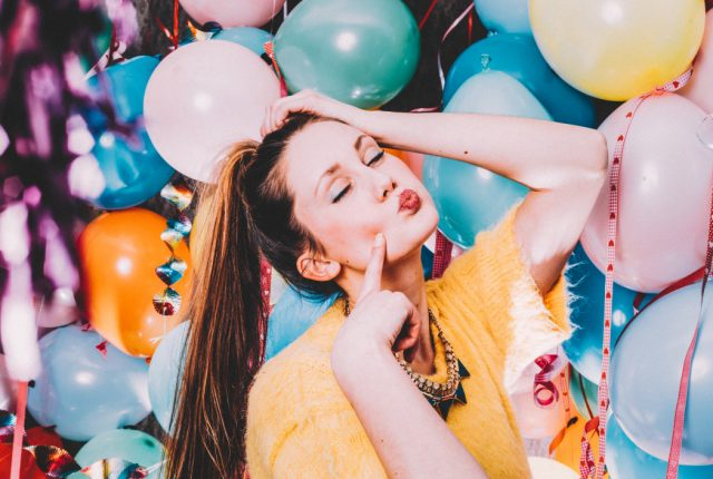 Happy Birthday Beautiful! 50+ Best Birthday Quotes And Wishes For Her, Beautiful Birthday Messages, pretty lady celebrating