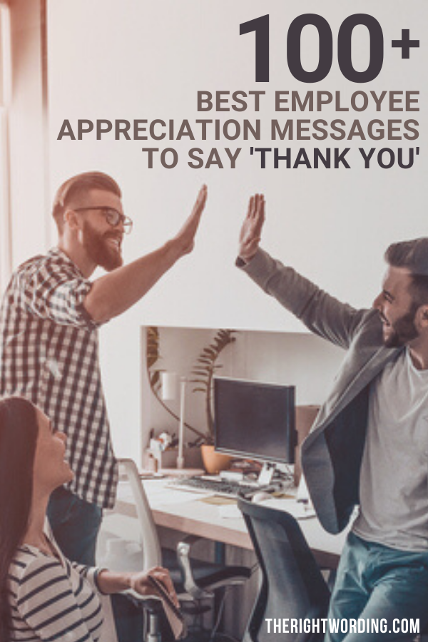 Best Employee Appreciation Messages And Quotes To Say Thank You, Example of thanks Employee for employee appreciation day #employeeappreciation #employeeappreciationday #thankyou #thankyounote #thanks