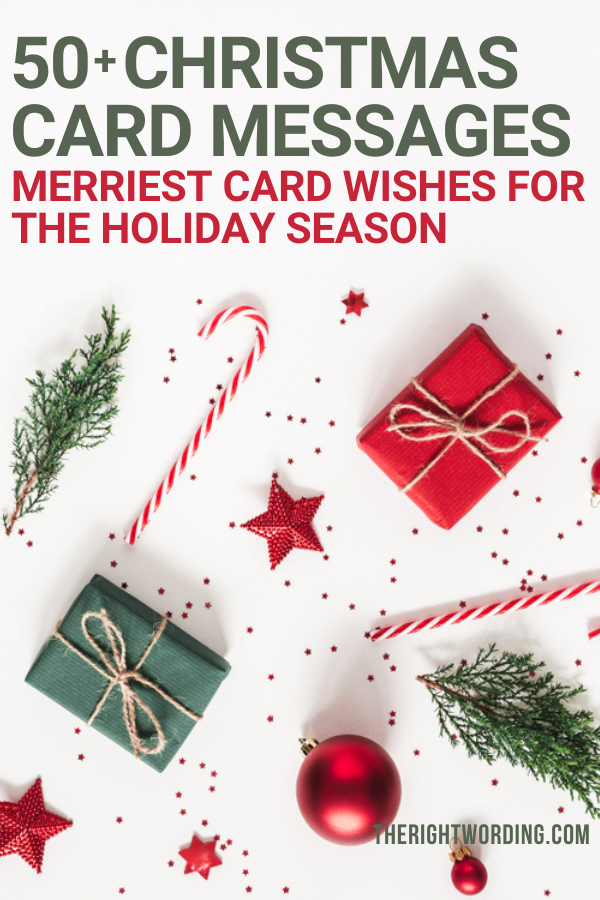Jolly Christmas Card Messages And Wishes For A Merry Holiday #christmas #christmascard #christmascards #holidaycard #holidaycards